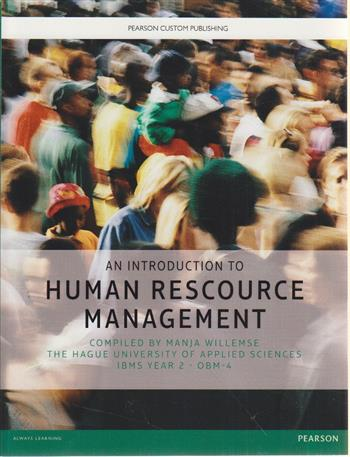 9781782366898 - An Introduction to Human Resource Management The Hague University of Applied Sciences