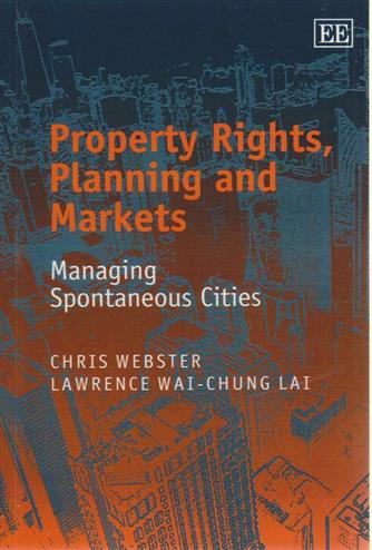 9781843763413 - Property rights, planning and markets