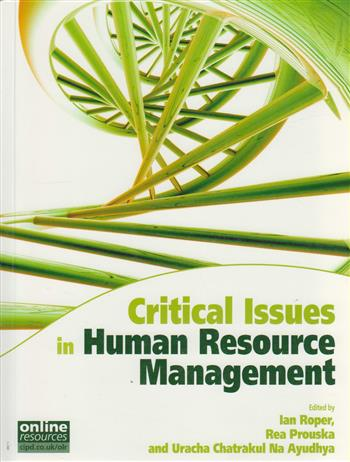 9781843982425 - Critical issues in human resource management