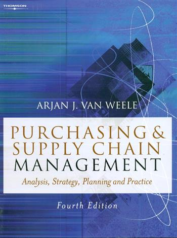 9781844800247 - Purchasing and supply chain management