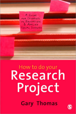 9781847874436 - How To Do Your Research Project: A Guide For Students In Education And