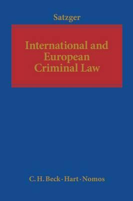 9781849460804 - International and European Criminal Law