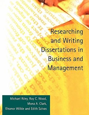 9781861526083 - Researching and writing dissertations in business and management