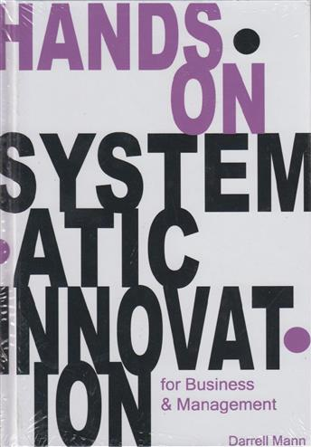 9781898546733 - Hands on Systematic Innovation