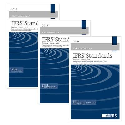 9781911629047 - IFRS Standards 2019 (Blue Book Bound 3 Volume)
