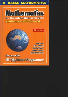 9781921972058 - Mathematics for the International Student: Mathematical Studies SL