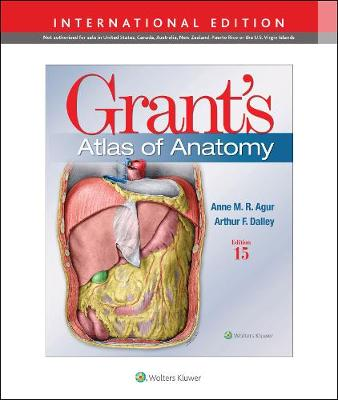 9781975138783 - Grant's Atlas of Anatomy (International ed)