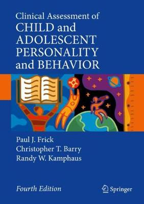 9783030356941 - Clinical Assessment of Child and Adolescent Personality and Behavior