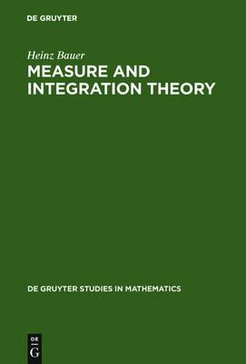 9783110167191 - Measure and integration theory