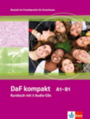 DaF kompakt: kursbuch mit 3 audio-cds - Onbekend