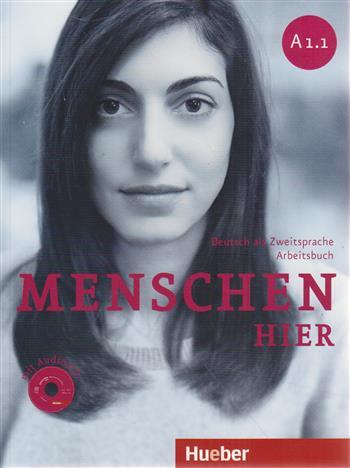 Menschen hier A1/1 - Sechsbandige Ausgabe (Kurs-/Arbeitsbuch + DVD-ROM + Audio-CD) - Specht, Franz