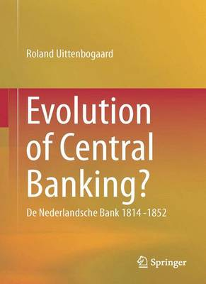 9783319106168 - Evolution of Central Banking?