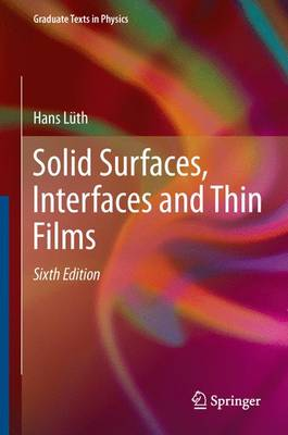 9783319107554 - Solid Surfaces, Interfaces and Thin Films