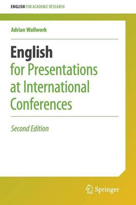 9783319263281 - English for Presentations at International Conferences