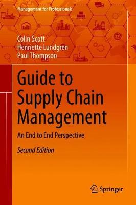 9783319771847 - Guide to Supply Chain Management