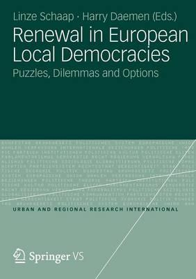 9783531187624 - Renewal in european local democracies puzzles, dilemmas and options