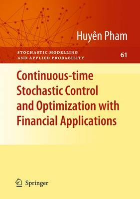 9783642100444 - Continuous-time Stochastic Control and Optimization with Financial Applications