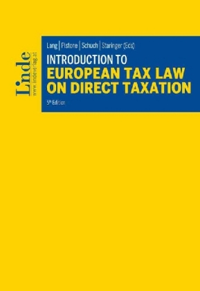 9783707338461 - Introduction to European Tax Law on Direct Taxation