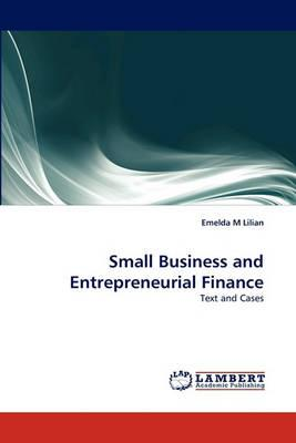 9783844332711 - Small Business and Entrepreneurial Finance