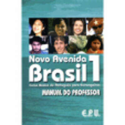 9788512545219 - Novo avenida brasil 1, manual do professor