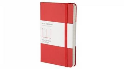 9788862930000 - Moleskine Classic ruled notebook pocket rood