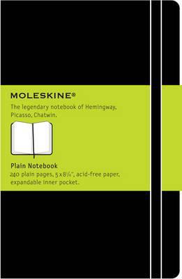 Moleskine Large Plain Notebook