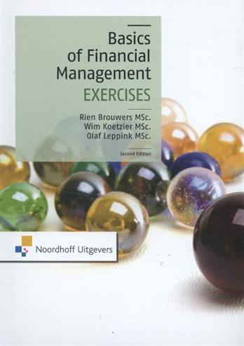 9789001839123 - The basics of financial management exercises