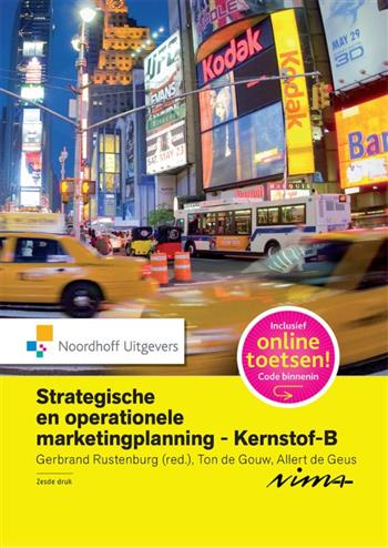9789001853167 - Strategische en operationele marketingplanning-Kernstof B