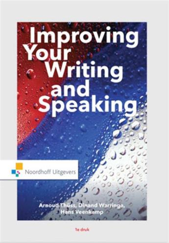 9789001862602 - Improving Your Writing and Speaking incl. toegang tot Prepzone
