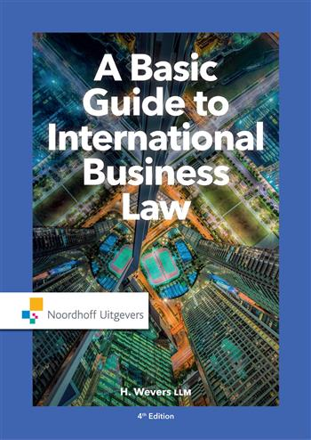 9789001862749 - A Basic Guide to International Business Law
