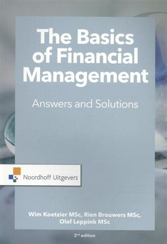 9789001889258 - The basics of financial management-answers and solutions