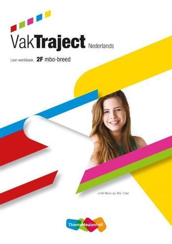 9789006144611 - VakTraject Nederlands Leer-werkboek 2F Mbo breed