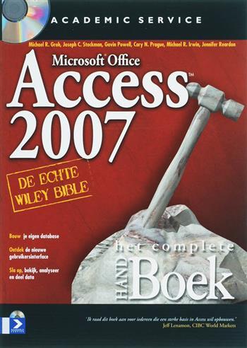 Het complete handboek access 2007 (+ cd-rom)
