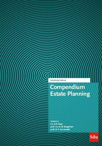9789012403726 - Compendium Estate Planning 2019