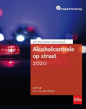 9789012405294 - Alcoholcontrole op straat 2020