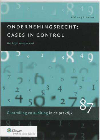 9789013064872 - Ondernemingsrecht - cases in control