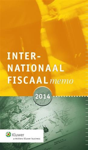 9789013127959 - Internationaal fiscaal memo 2014