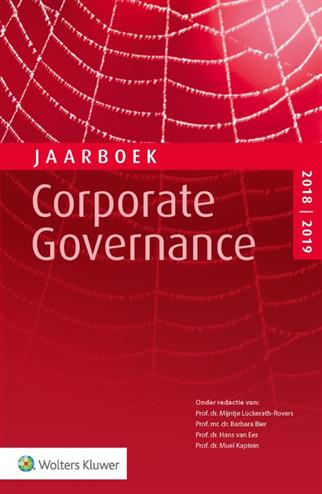 9789013151169 - Jaarboek Corporate Governance 2018-2019