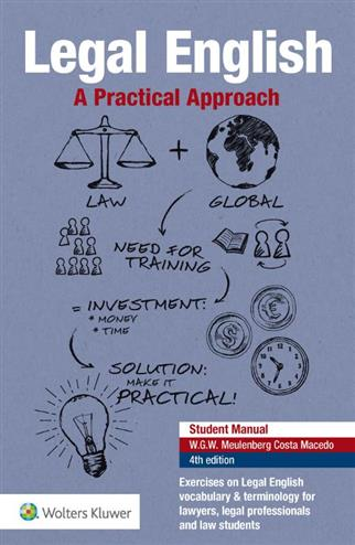9789013153064 - Legal English, A Practical Approach