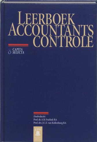 9789020725353 - Leerboek Accountantscontrole 8