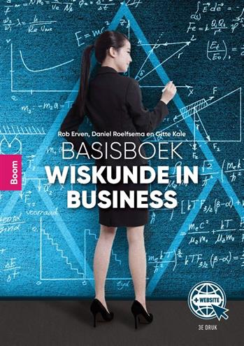 9789024437757 - Basisboek wiskunde in business