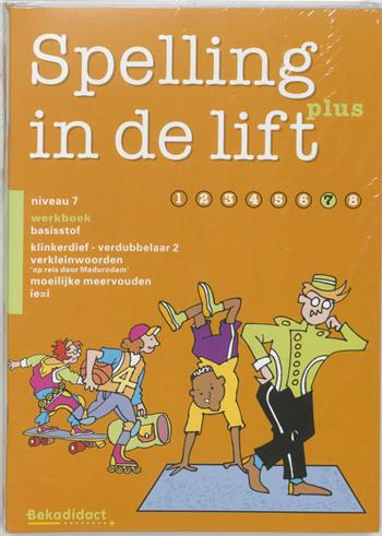 9789026253454 - Spelling in de lift plus niveau 7 werkboek (a 5 ex)