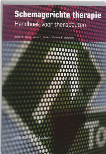 Studystore schemagerichte therapie handboek voor for Psychodynamische benadering