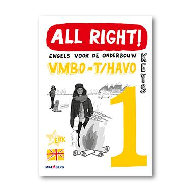 9789034572752 - All right! 1t/h antwoordenboek