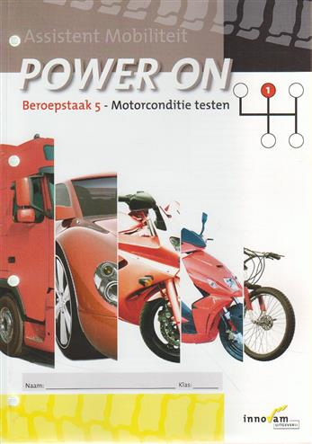 9789040546860 - Power on taak 5 motorconditie testen