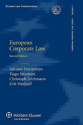 9789041124845 - European corporate law