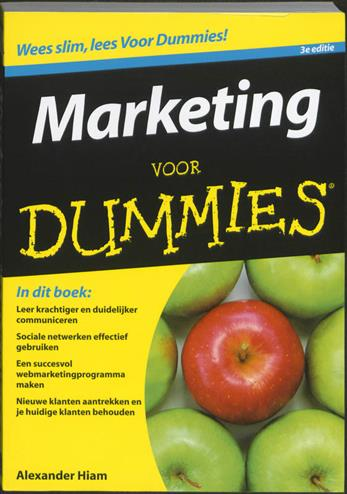 9789043021302 - Marketing voor dummies, 3/e
