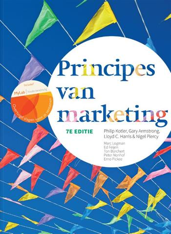 9789043034098 - Principes van marketing, 7e editie met MyLab NL