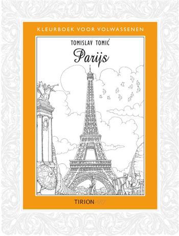 Kleurboek voor volwassenen Parijs