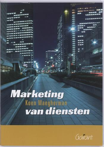 9789044120349 - Marketing van diensten